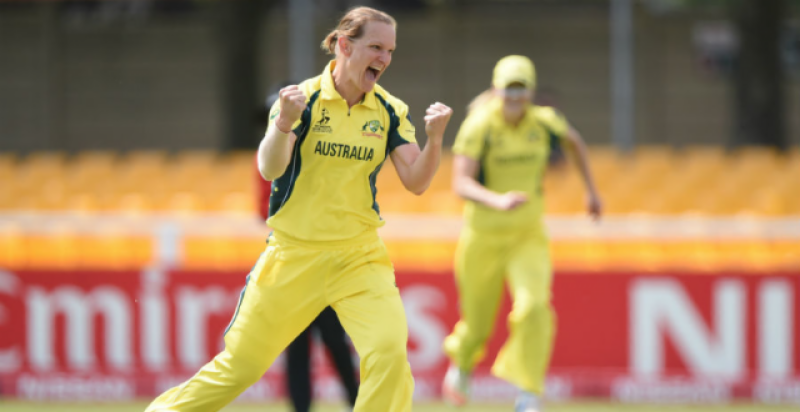 آئی سی سی ویمنز کرکٹ ورلڈ کپ میں پاکستان کو آسٹریلیا سے شرمناک شکست