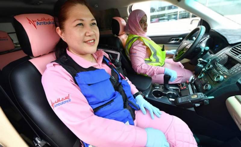 دبئی میں خواتین کیلئے سپیشل ایمبولینس سروس شروع