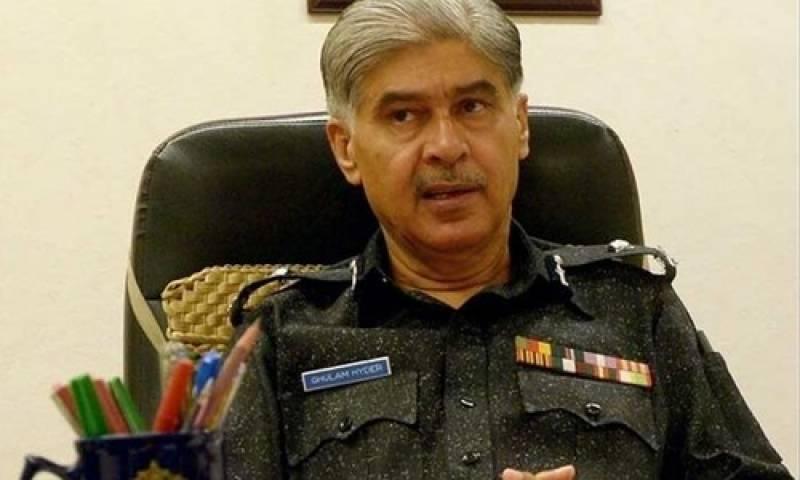کرپشن ریفرنس کیس:سابق آئی جی سندھ اور دیگر پولیس افسران پرفردجرم عائد کیے جانے کا امکان