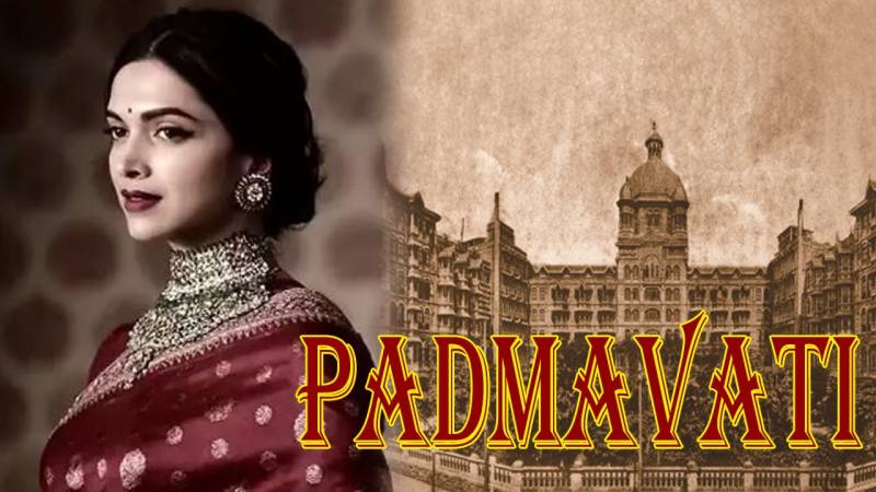 """فلم """"پدماوتی"""" کی نئی جھلک منظر عام پر آ گئی"""