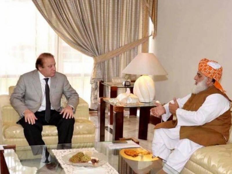 موجودہ حالات کے پیش نظر وزیراعظم نے سیاسی رابطوں کا ٹاسک مولانا کو دیدیا