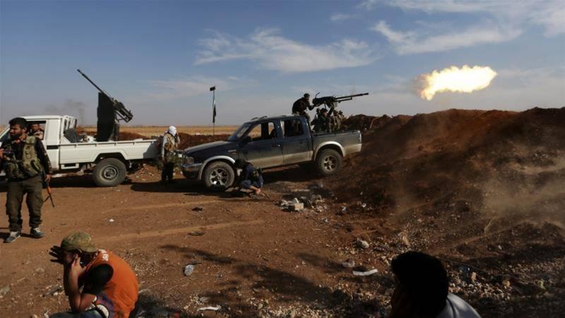 داعش کے دارالخلافہ الرقہ میں شدید حملے،25ہلاک