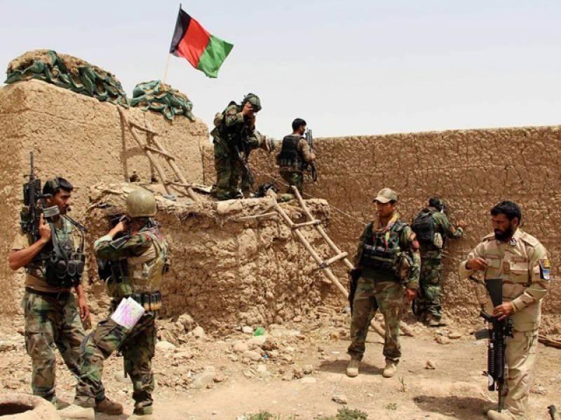 افغان فورسز اور طالبان کے درمیان شدید جھڑپیں