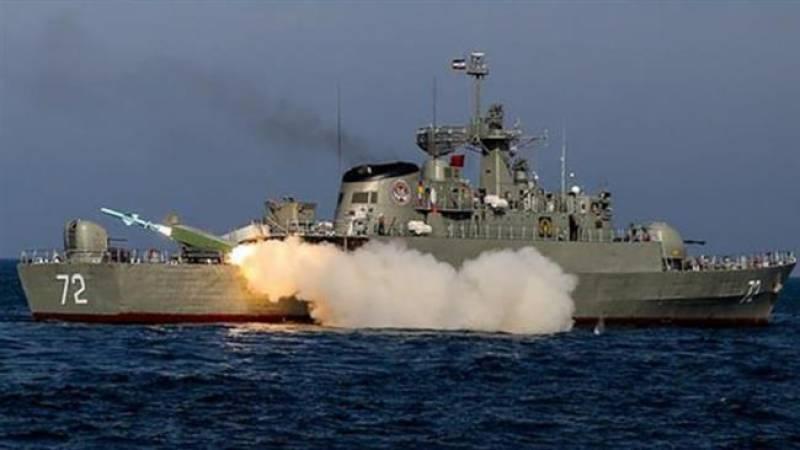 چین اور ایران کی خلیج فارس میں جنگی مشقیں شروع کرنے کا اعلان