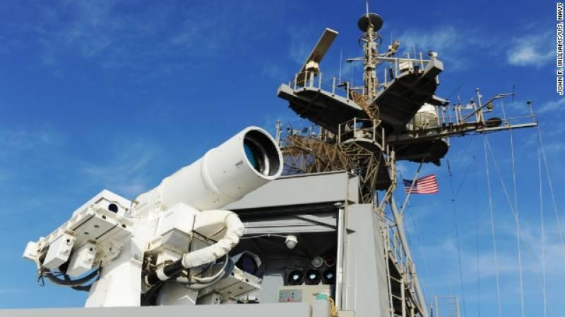 دنیا کا پہلا ایکٹیو لیزر ہتھیارامریکی نیوی کے حوالے کردیاگیا