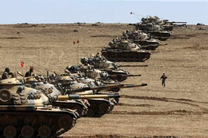 شام میں جاری جھڑپیں ترک سرحد کے قریب پہنچ گئیں