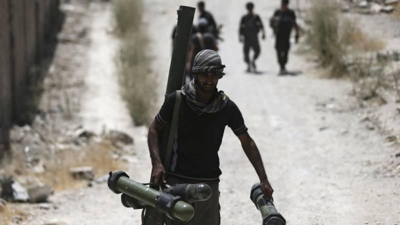 امریکہ نے شامی باغیوں کو ہتھیاروں کی فراہمی روکنے کی تصدیق کر دی