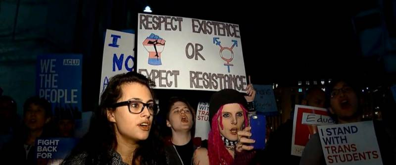 امریکہ میں خواجہ سراؤں کا ملک گیر احتجاج شروع