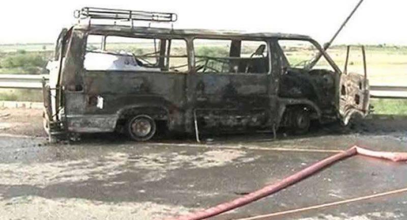 اٹک، وین اور ٹرک میں خوفناک تصادم میں آگ سے جھلس کر13 افراد جاں بحق،متعدد زخمی ہو گئے