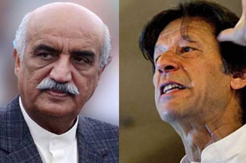 عمران خان نے شیخ رشید کووزارت عظمیٰ کا امیدوار بنانے کے معاملے پراعتماد میں نہیں لیا ,خورشید شاہ