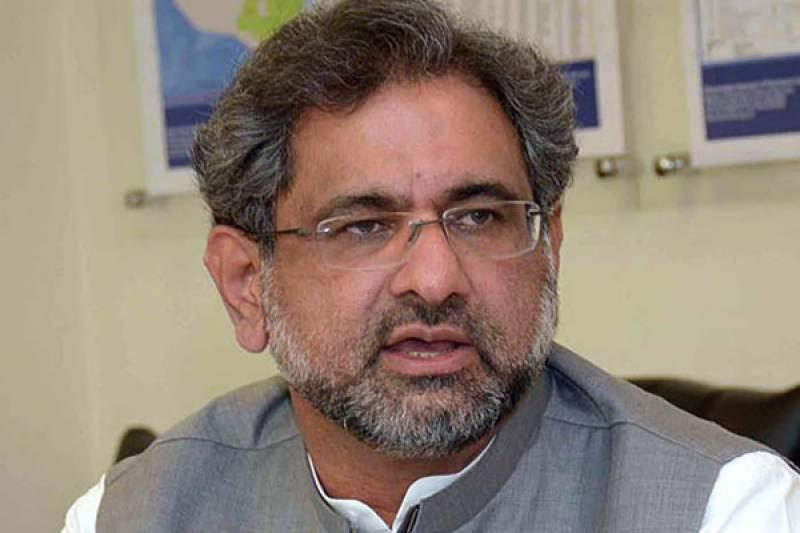 کابینہ کا فیصلہ پارٹی کی اعلی قیادت کرے گی،شاہد خاقان عباسی