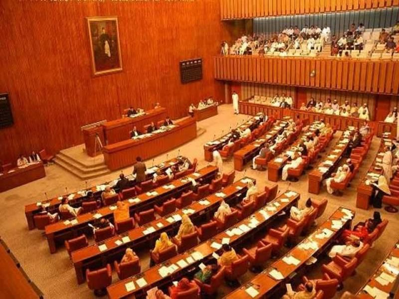 پیپلزپارٹی کی وزیراعظم آزاد کشمیر کے بیان کیخلاف سینیٹ میں تحریک التوا