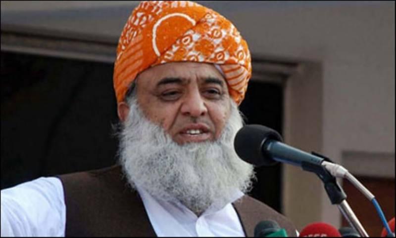 شاہدخاقان عباسی کو ووٹ دیکرکامیاب بنائیں گے، مولانافضل الرحمان