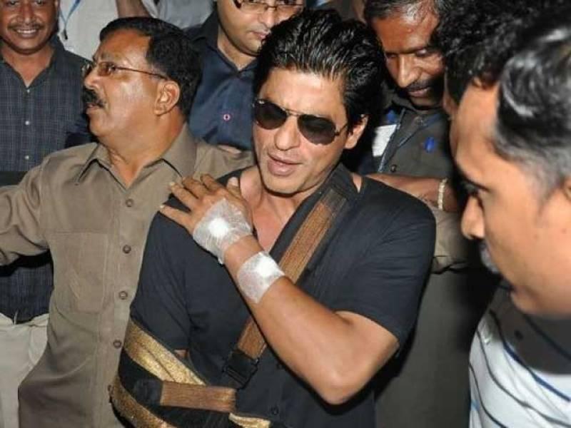 شاہ رخ خان فلم کی تشہیری مہم کے دوران زخمی