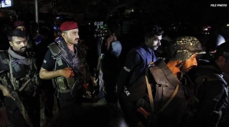لاہور: فائرنگ کے تبادلے میں کالعدم تنظیم کے چار دہشت گرد ہلاک