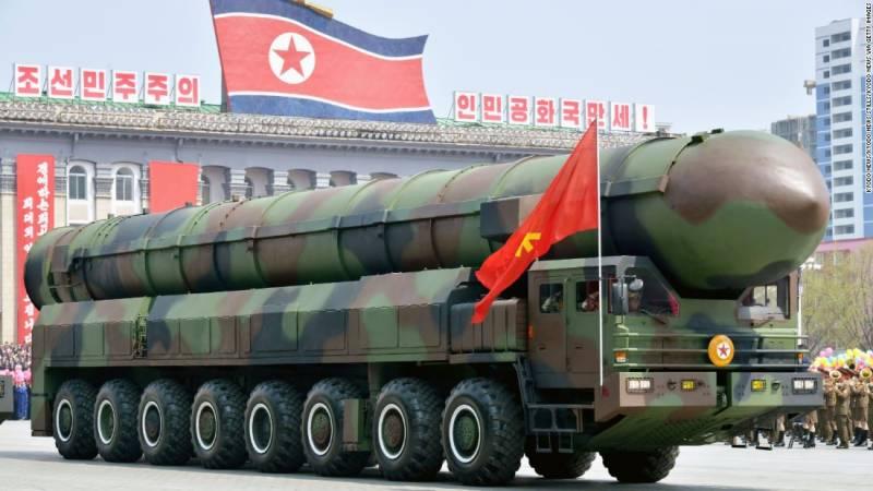 شمالی کوریا کا گوام کے قریب امریکی تنصیبات پر حملے پر غور
