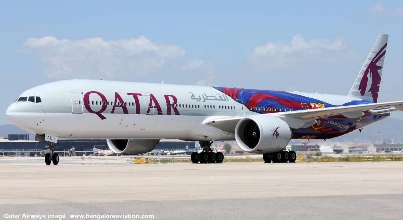 قطری ایئرلائن کو فضائی حدود استعمال نہیں کرنے دی گئی، سعودی عرب