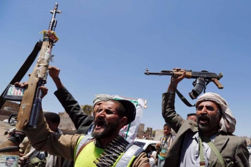 یمنی فوج نے باغیوں کاڈرون مار گرایا