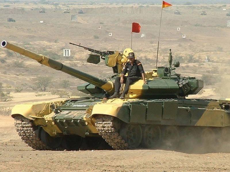 بین الاقوامی مقابلے میں شریک 2بھارتی فوجی ٹینک ناکام ہو گئے