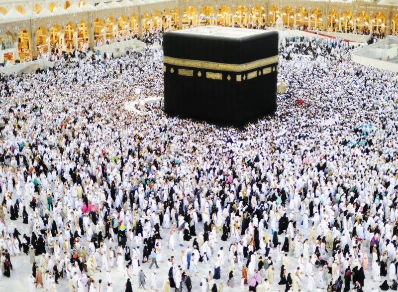 دنیا بھرسے 6,75,143 عازمین حج سعودی عرب پہنچ گئے