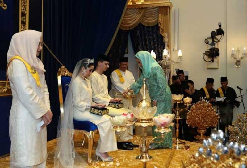 ملائیشیا کی شہزادی نے نومسلم سابق ماڈل سے شادی کرلی