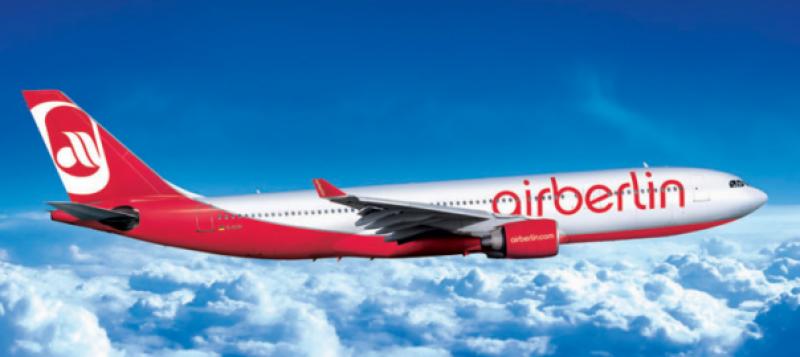 جرمنی کی ایئر برلن دیوالیہ ہونے کے قریب پہنچ گئی