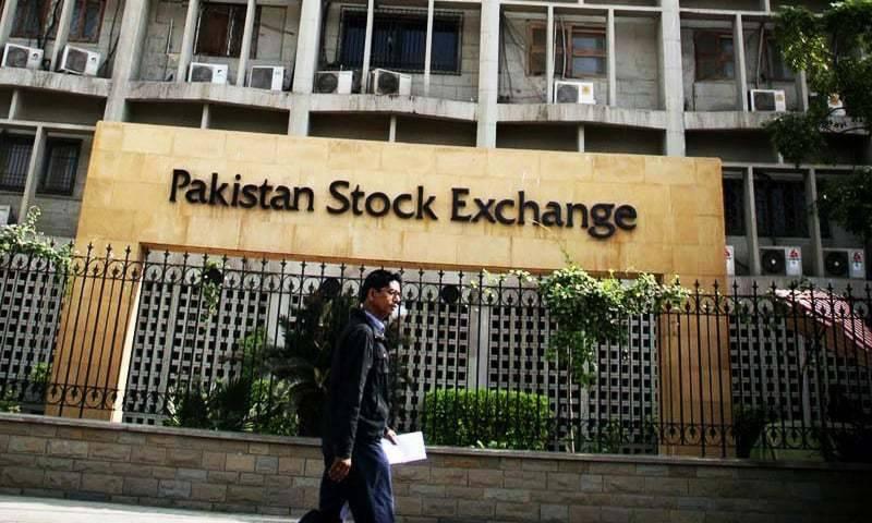 پاکستان اسٹاک ایکسچینج 100 انڈیکس 43136 پوائنٹس پر بند