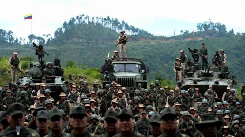 وینزیلا، امریکی دھمکی کے بعد عوام کو اسلحہ چلانے کی تربیت