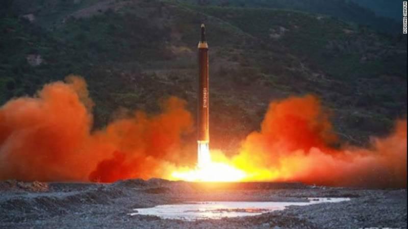 شمالی کوریا کا میزائل کا تجربہ،جاپان کو شدید خطرہ