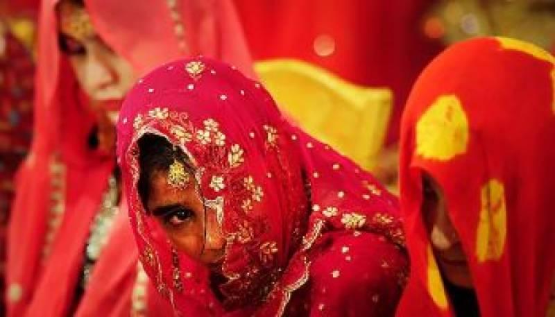 پاکستان میں ہر 28 منٹ میں ایک بچے کی شادی ہوتی ہے، رپورٹ