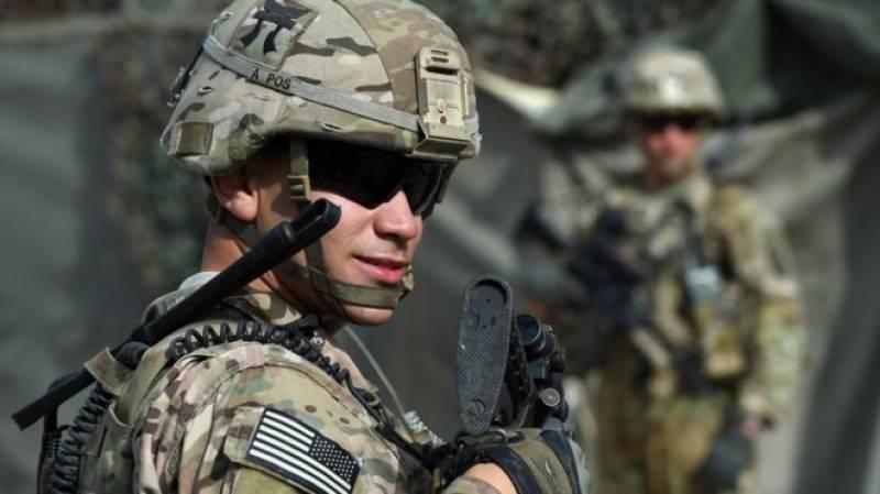 پینٹاگون نے11ہزار امریکیوں فوجیوں کی افغانستان میں موجودگی کی تصدیق کر دی