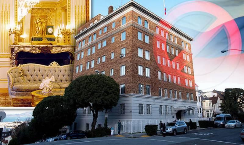 امریکہ نے روسی سفارتخانہ اور دو نمائندہ دفاتر کو بند کر دیا