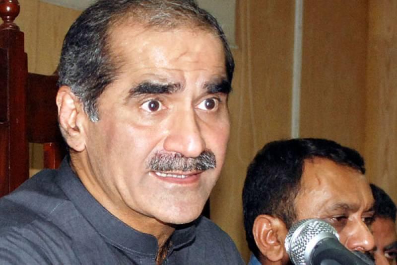 بینظیر کے ورثاء نے انصاف کیلئے صرف باتیں کیں : سعد رفیق