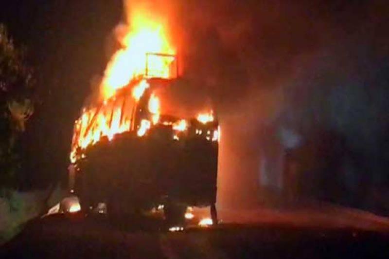 اوچ شریف کے قریب قومی شاہراہ پر دو بسوں کے درمیان خوفناک تصادم ،متعدد جاں بحق