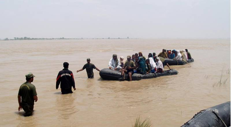 دریائے چناب میں ایک ہی خاندان کے 3افراد ڈوب کر جاں بحق