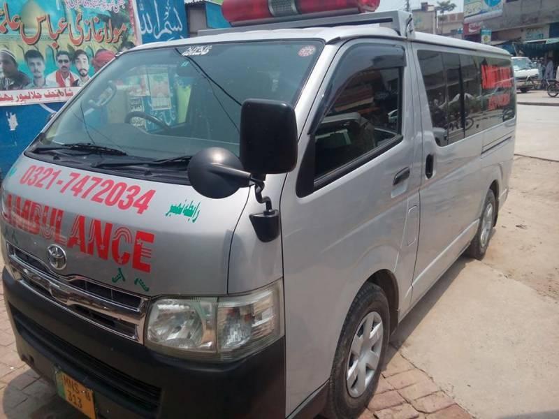 جلالپور بھٹیاں : چوہدری صغیر احمد (مرحوم) مفت ایمبولینس سروس سے علاقہ مکینوں کی مشکلات میں کمی ہوئی، چوہدری راحت صغیر