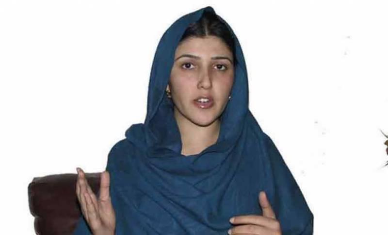بدکردار شخص پارٹی کا سربراہ نہیں ہو سکتا، عائشہ گلالئی