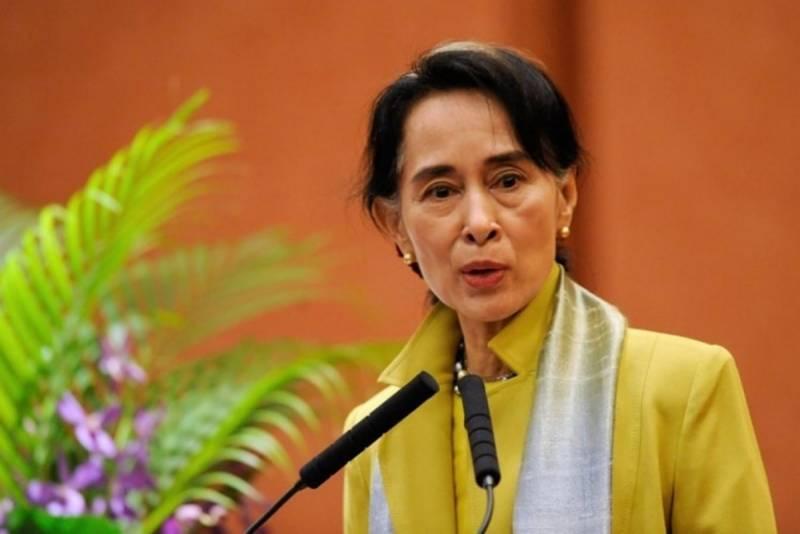 میانمار کی رہنما آنگ سان سوچی سے نوبل انعام واپس لے لینا چاہیئے ،برطانوی میڈیا