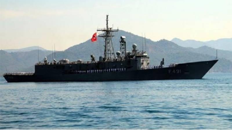 ترکی سمندر میں یونانی بحری جہاز کی مدد کو پہنچ گیا