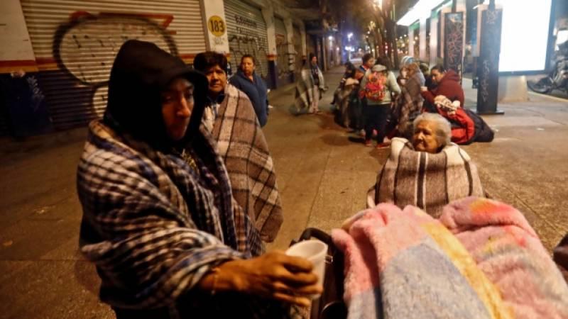 میکسیکو زلزلے میں جاں بحق ہونیوالوں کی تعداد 5ہو گئی