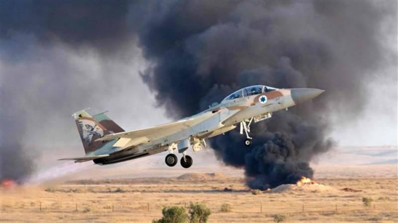 اسرائیل کا شام پر فضائی حملہ ٗ 2فوجی جاں بحق ٗ متعدد زخمی