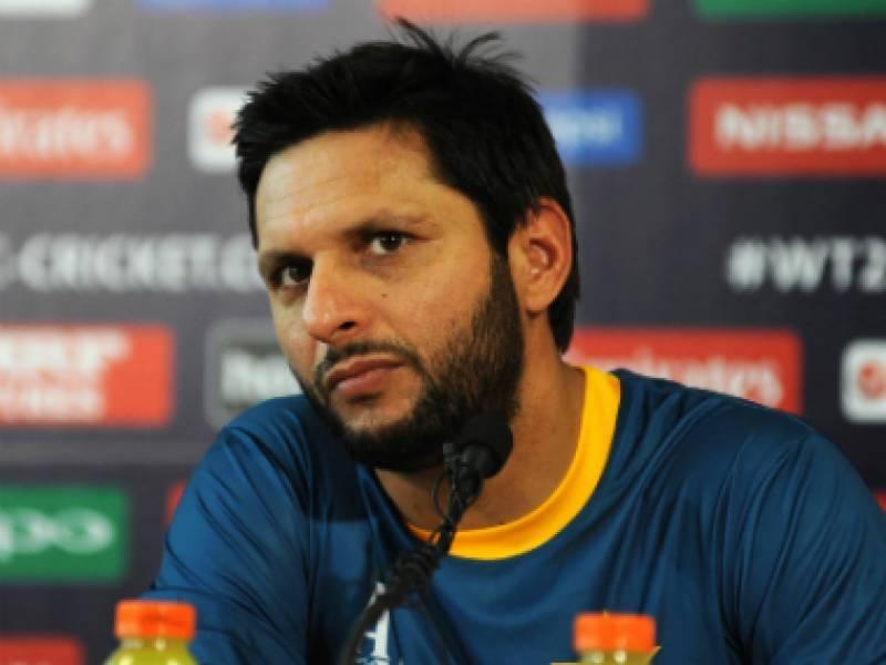 شاہد آفریدی نے افغان کرکٹ لیگ کھیلنے سے معذرت کر لی