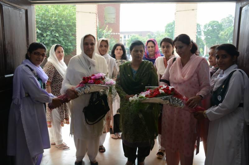 سمن آباد کالج میں 11 ستمبر کے حوالے سے تقریب منعقد