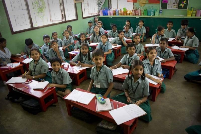 اب بھارت کے سکولوں میں ہر بچہ حاضری پر جے ہند کہنے کا پابند
