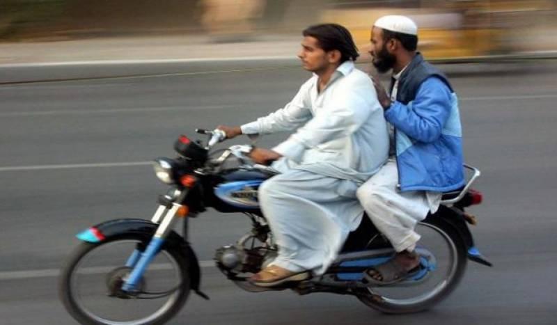 سندھ بھر میں ڈبل سواری پر پابندی عائد