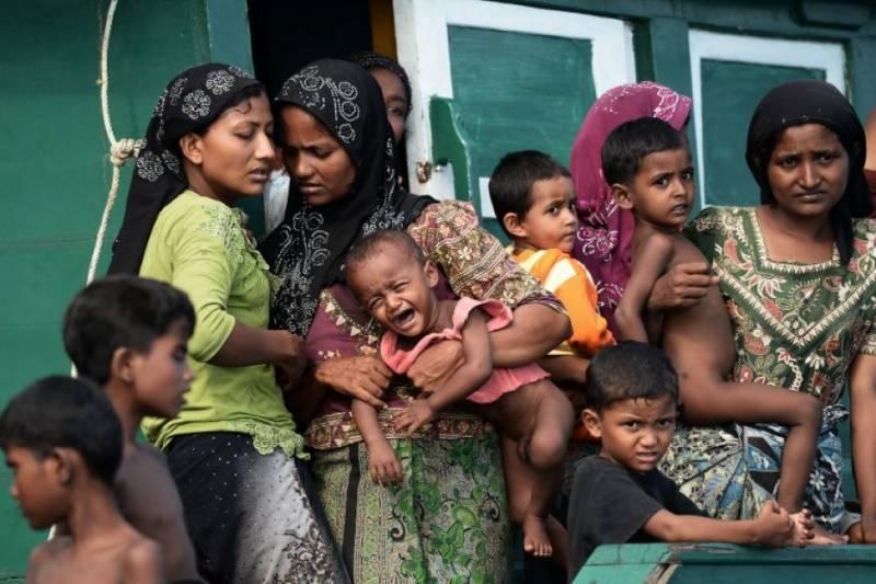 میانمار سے بنگلہ دیش نقل مکانی کرنے والی روہنگیا خواتین جنسی تشدد کا شکار