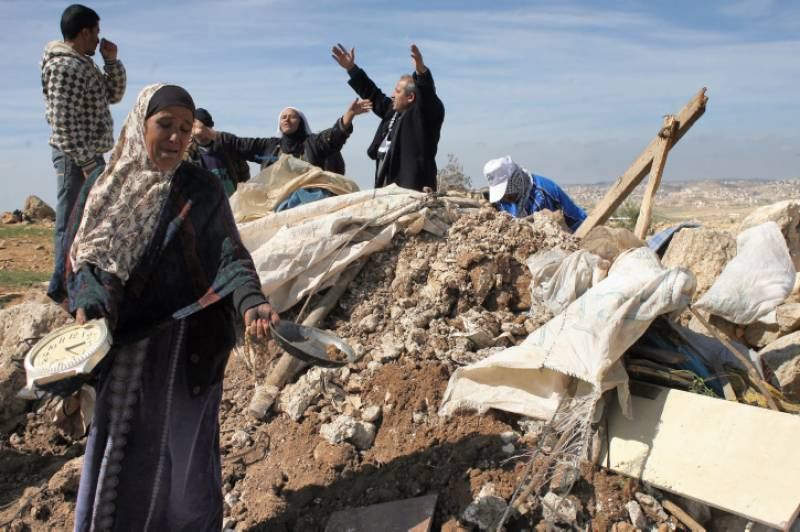 اسرائیلی فوج نے العراقیب گاﺅں کو 118 ویں بار مسمار کر دیا