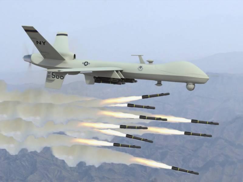 پاک افغان سرحد کے قریب ڈرون حملہ, 3 افراد جاں بحق