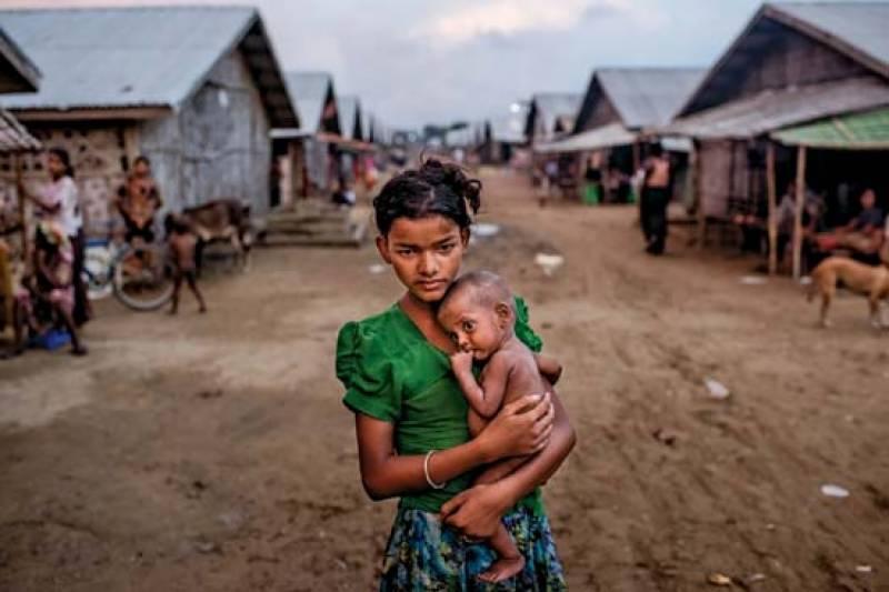 روہنگیا مہاجرین میں غیر ملکی امداد کی تقسیم کا ٹاسک بنگلہ دیشی فوج کو دیدیا گیا
