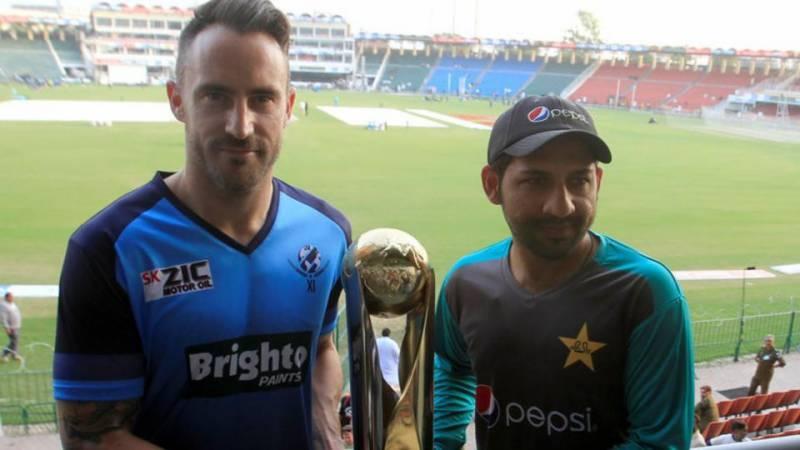 پاکستان کا ورلڈ الیون کو جیت کیلئے 184 رنز کا ہدف